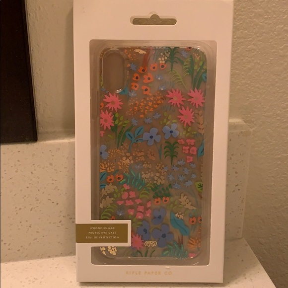 NEW! Rifle Paper print iPhone XS Max case